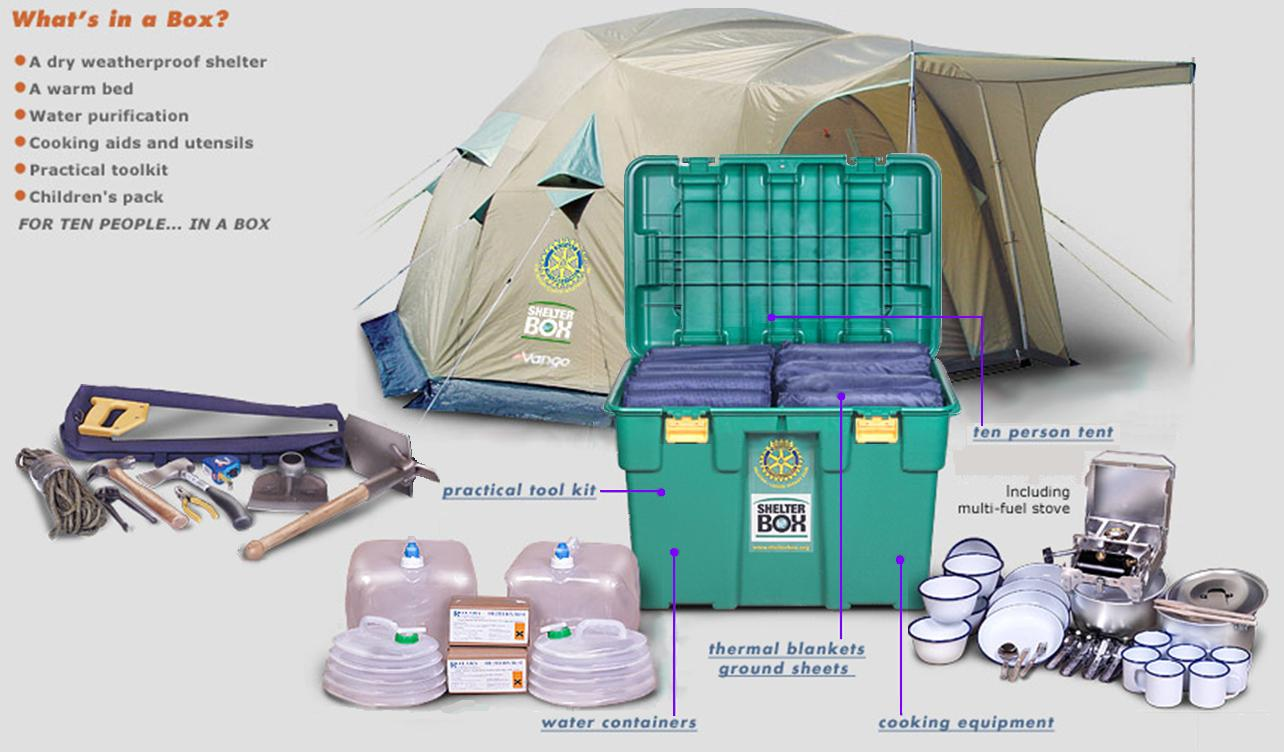 Shelterbox-contents