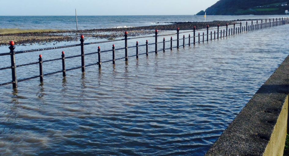 Bray seafront flooding