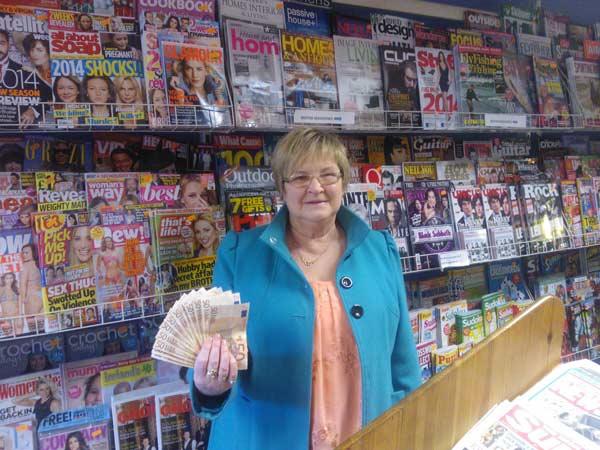 Winner Mary Kehoe