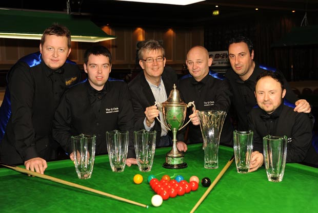 Robert Murphy, Wayne Doyle, Patrick O'Donoghue (Gleneagle Hotel), Jason Watson, Captain, Michael Judge and Keith Sheldreck. Picture: Eamonn Keogh