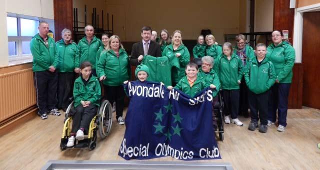 Avondale Allstars Special Olympics Club.
