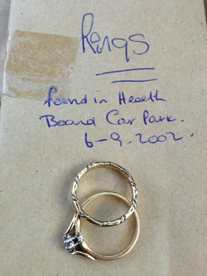 The rings that were lost in 2002