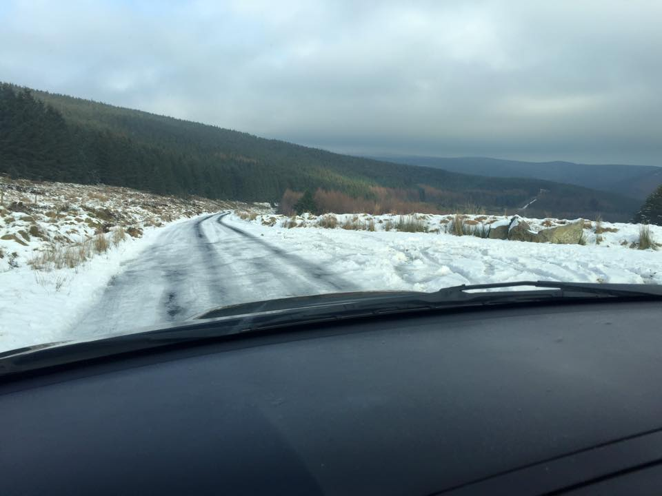 Gardai are advising motorists to avoid the Sally Gap (file photo)