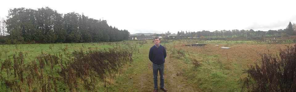 Pat Kennedy at the Councils site in Rathdrum