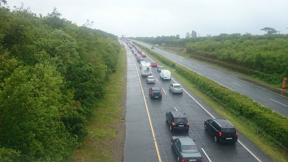 N11 Northbound at Arklow this afternoon (Pic.Yvette O.Beirne)