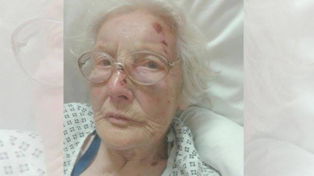 Eva Sutton was badly beaten during the burglary