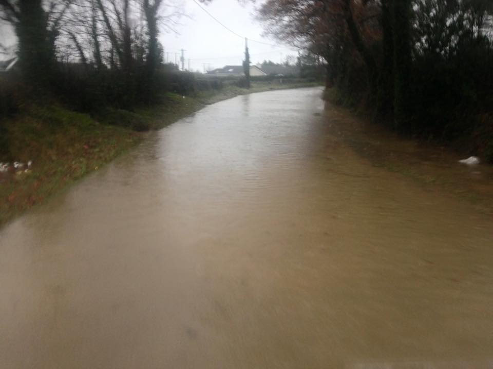 Flooding reported in several Irish counties due to heavy rainfall