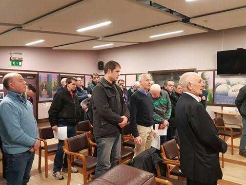 AGM A minutes silence is observed at the AGM for all deceased club members.