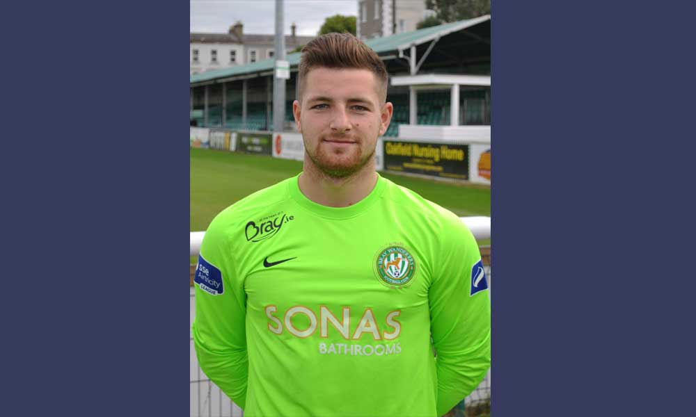 Lee Stacey signs for 2017. Bray Wanderers FC