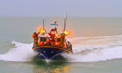 Santa visits RNLI Wicklow. Pic Tommy Dover