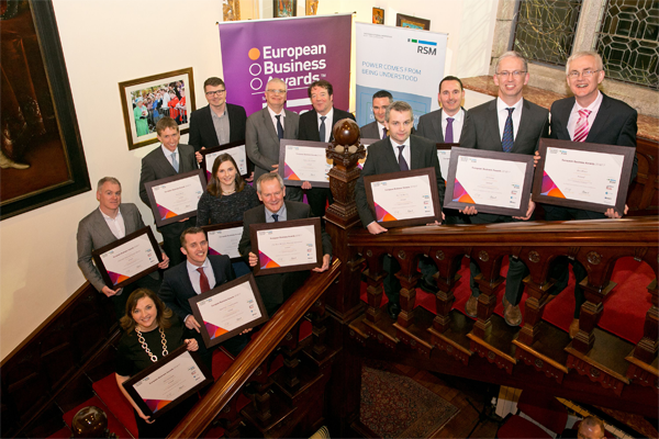 European biz awards