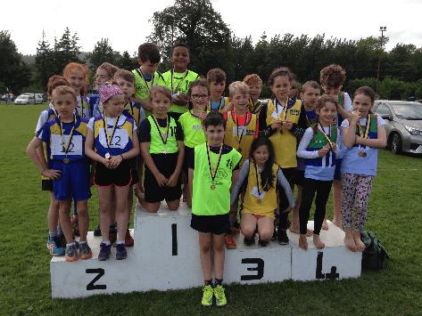 Winners U10 Mixed 4X100m, 10.06.2017