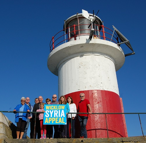 Wicklow Syria Appeal Group at Harbour Lighthouse