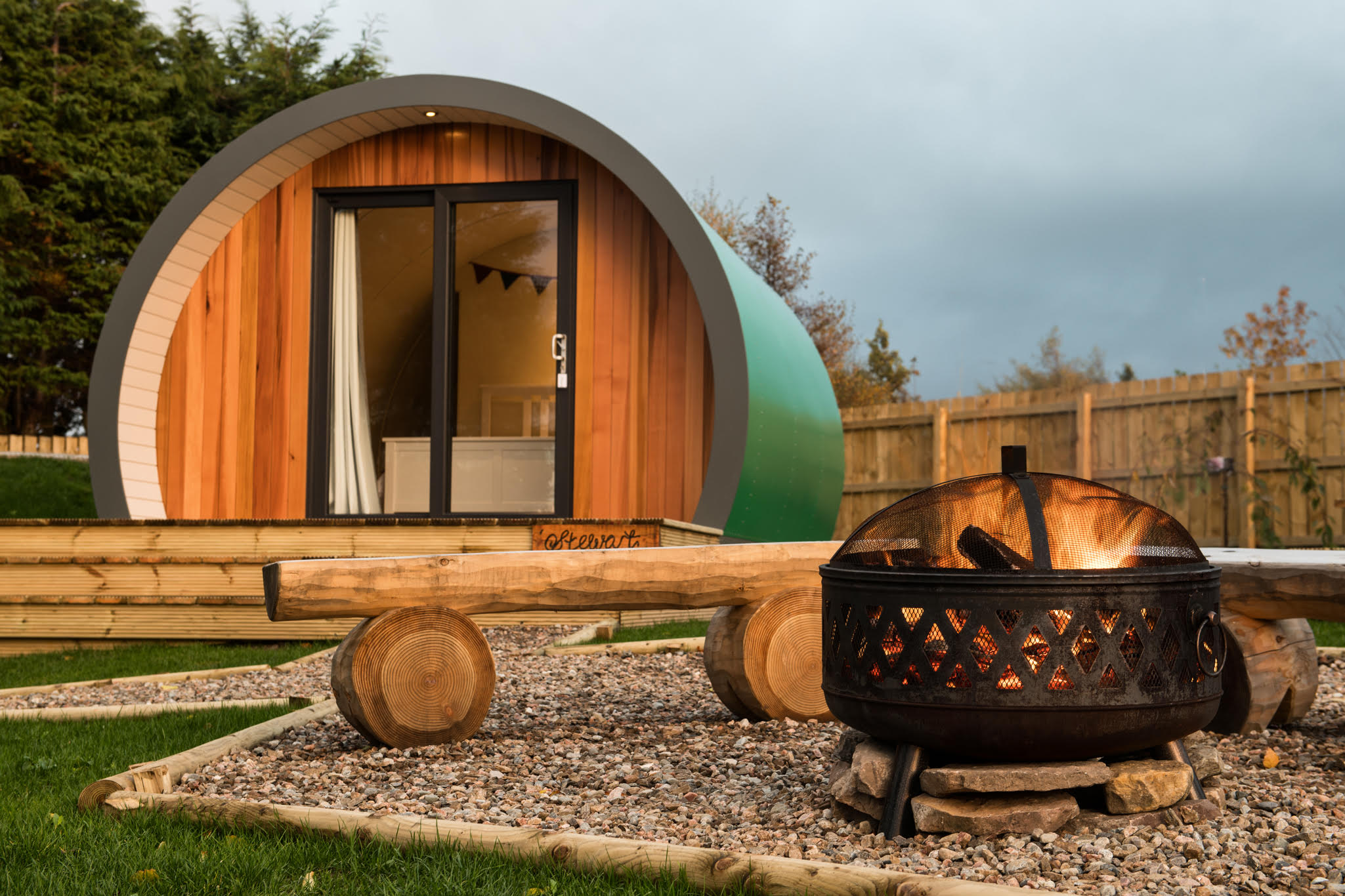 Intupod a unique luxury accommodation experience for Unique accommodation